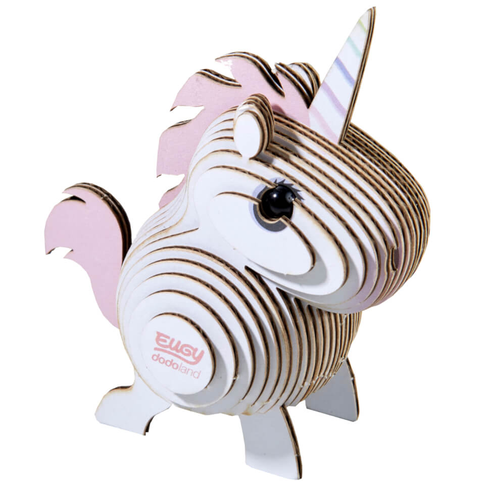 Eugy Unicorn 3D Craft Kit
