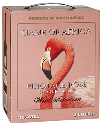 Game of Africa - Wild Selection Pinotage Rosé Wein 13% Vol. - 3l Bag-in-Box