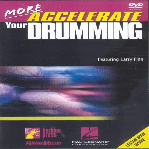 More Accelerate Your Drumming [DVD] von FINN LARRY
