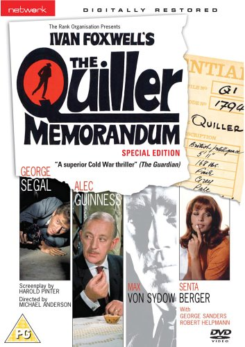 The Quiller Memorandum [1966] [UK Import] von DVD1
