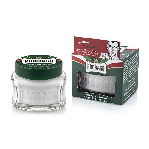 Proraso Pre-Shave Cream Refreshing and Toning, 1er Pack (1 x 100 ml) von Proraso
