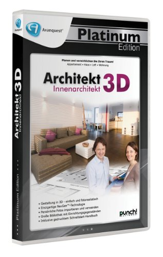 Architekt 3D Innenarchitekt - Avanquest Platinum Edition von Punch/Avanquest