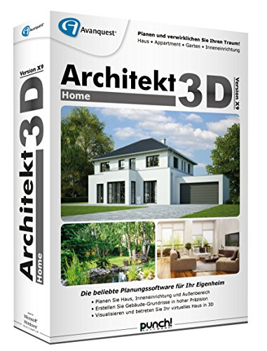 Architekt 3D X9 Home von Punch/Avanquest