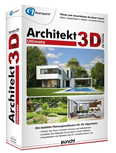 Architekt 3D X9 Ultimate von Punch/Avanquest
