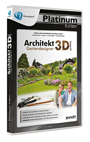 Architekt 3D X5 Gartendesigner - Avanquest Platinum Edition von Punch Software