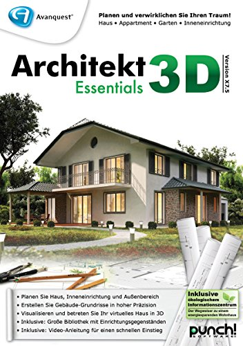 Architekt 3D X7.5 Essentials [PC Download] von Punch!