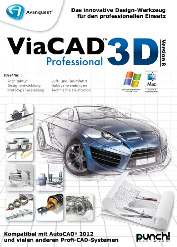 ViaCAD 3D 9 Professional [Download] von Punch!