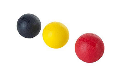 Pure 2Improve Massageball Set, weich(gelb), medium(rot) und fest(schwarz) von Pure 2Improve