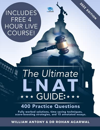 The Ultimate LNAT Guide: 400 Practice Questions: Fully Worked Solutions, Time Saving Techniques, Score Boosting Strategies, 15 Annotated Essays. 2019 ... Admissions Test for Law (LNAT) UniAdmissions von RAR Medical Services