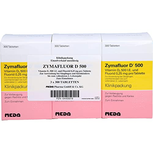 ZYMAFLUOR D 500 Tabletten 3X300 St von MEDA Pharma GmbH & Co.KG