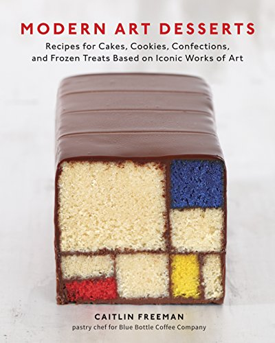 Modern Art Desserts: Recipes for Cakes, Cookies, Confections, and Frozen Treats Based on Iconic Works of Art von Random House Us; Ten Speed Press