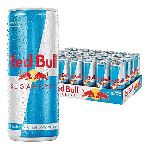 Red Bull Energy Drink Sugar Free 24x250ml Cans von Red Bull