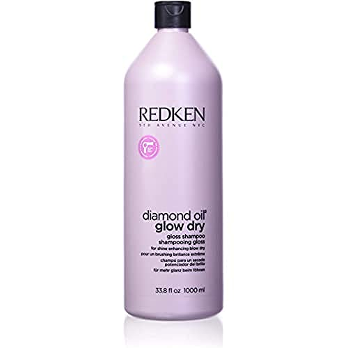 Redken Diamond Oil Glow Dry Shampool, 1000 ml von REDKEN