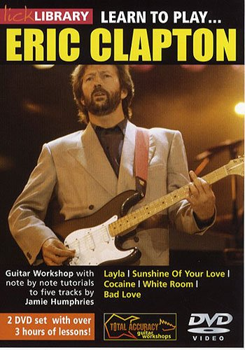 Jamie Humphries - Learn To Play - Eric Clapton [UK Import] von RDR