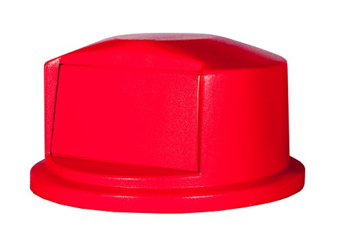 Rubbermaid 0.138 cu m Dome Top - Red von Rubbermaid Commercial Products