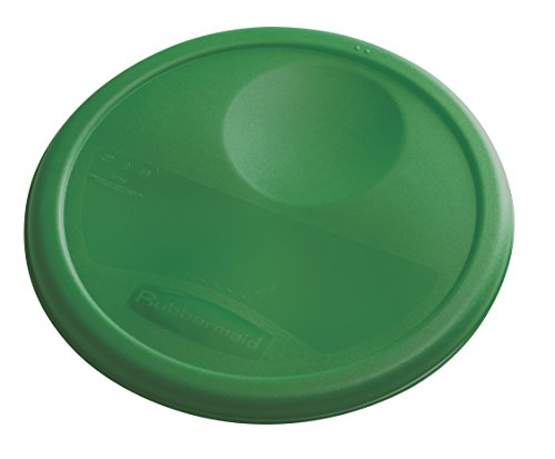Rubbermaid Commercial Food Storage Container Lid, Round, Green, 7.6 L von Rubbermaid Commercial Products