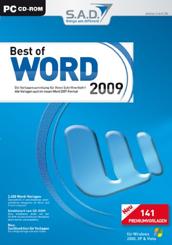 Best of Word 2009 von S.A.D.
