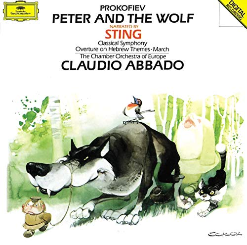 Peter and the Wolf von STING/VLADAR,STEFAN/ABBADO,CLAUDIO/COE