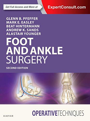 Operative Techniques: Foot and Ankle Surgery von Elsevier LTD, Oxford
