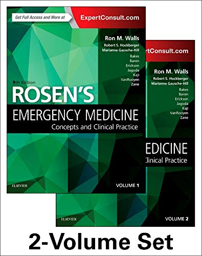 Rosen's Emergency Medicine: Concepts and Clinical Practice: 2-Volume Set von Elsevier LTD, Oxford