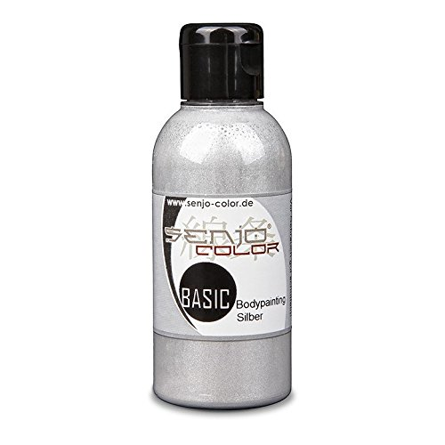 Senjo-Color Basic Bodypaint metallic 75ml Silber von Senjo Color