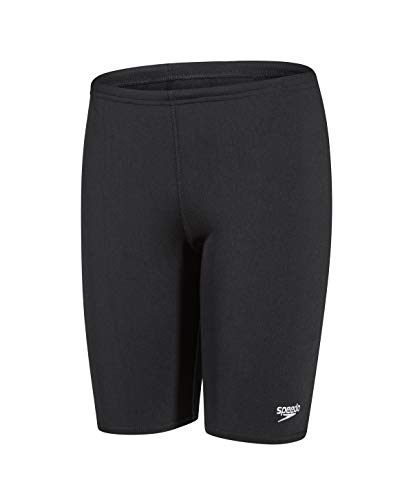 Speedo Jungen Badeshorts Essential Endurance Plus, black, 128, 8-00848000126 von Speedo