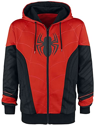 Spider-Man Red & Black Trainingsjacke schwarz/rot XXL von Spiderman