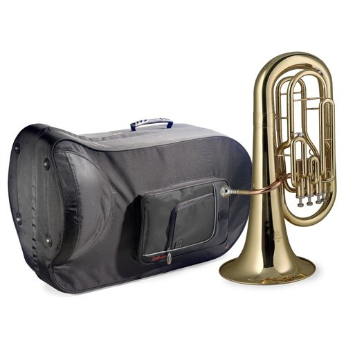 Stagg 25021076 WS-EP245S Bb S/C Euphonium, 4 Piston von Stagg