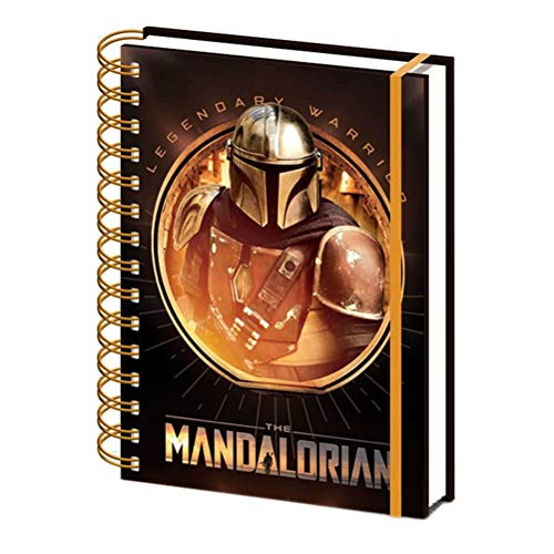 Star Wars: The Mandalorian - Notizbuch A5 Spiralen (Bounty Hunter) von Star Wars