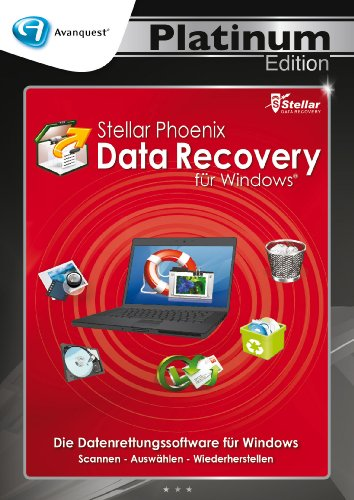 Stellar Phoenix Data Recovery für Windows - Avanquest Platinum Edition von Stellar