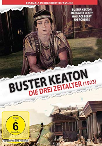 Buster Keaton - Drei Zeitalter - The Three Ages (1923) - in kolorierter Fassung von Studio Hamburg Enterprises (Aberle Media)