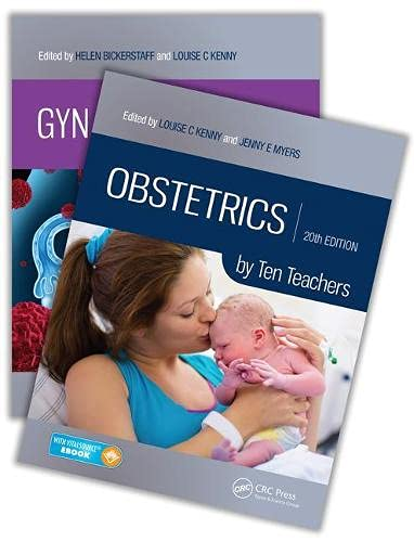Gynaecology by Ten Teachers, 20th Edition and Obstetrics by Ten Teachers, 20th Edition Value Pak von Taylor & Francis Inc