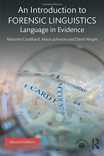 An Introduction to Forensic Linguistics von Taylor & Francis Ltd