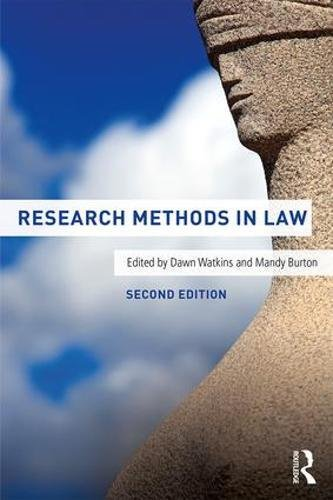 Research Methods in Law von Taylor & Francis Ltd.