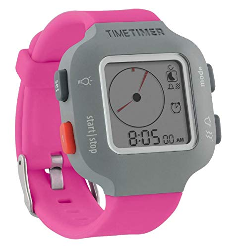 Time Timer Armbanduhr Plus Junior, Farbe pink. von Time Timer