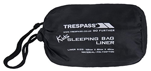 Trespass Kinder Schlafsack Slumber, Grey, One Size, UCACSLD20003_GRYEACH von Trespass