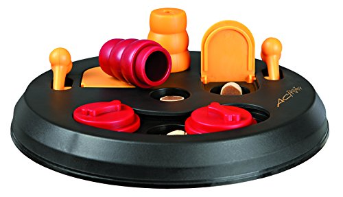 Trixie 32026 Dog Activity Flip Board Strategiespiel, für Hunde, 23 cm von Trixie
