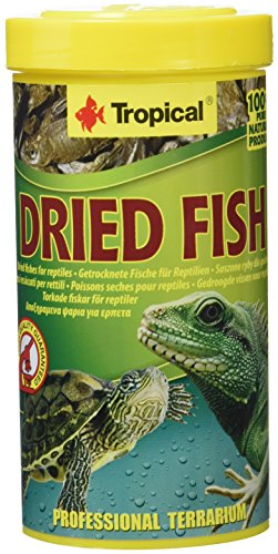 Tropical Dried Fish Food for Reptiles, 1er Pack (1 x 250 ml) von Tropical