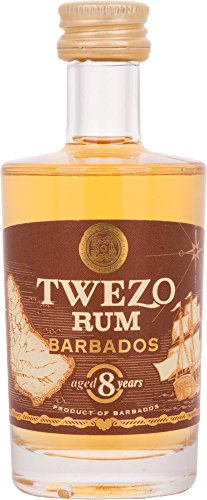 Twezo Rum Barbados 8 Years Old (1 x 0.05 l) von Twezo