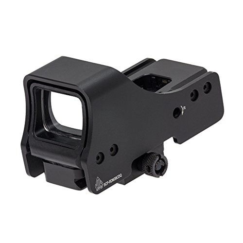 "UTG 3.9"" Red/Green Circle Dot Reflex Sight with Mount Reflexvisier, Schwarz, One Size von UTG"