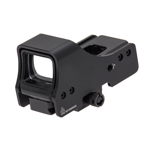 "UTG 3.9"" Red/Green Single Dot Reflex Sight with Mount Reflexvisier, Schwarz, One Size von UTG"
