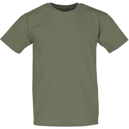 Fruit of the Loom - Classic T-Shirt 'Value Weight' S,Classic Olive von Fruit of the Loom