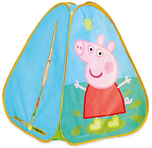 Peppa Pig 169PED Peppa Wutz Pop-up-Spielzelt, Blue von Peppa Pig