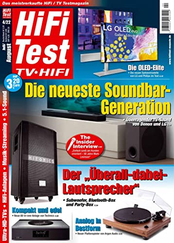Hifi Test TV Video von United Kiosk AG