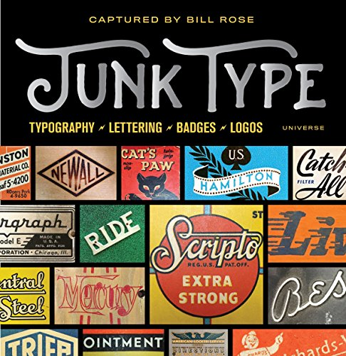 Junk Type: Typography - Lettering - Badges - Logos von Universe