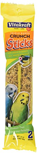 Budgie Sesame And Banana Sticks Bird Treat von Vitakraft