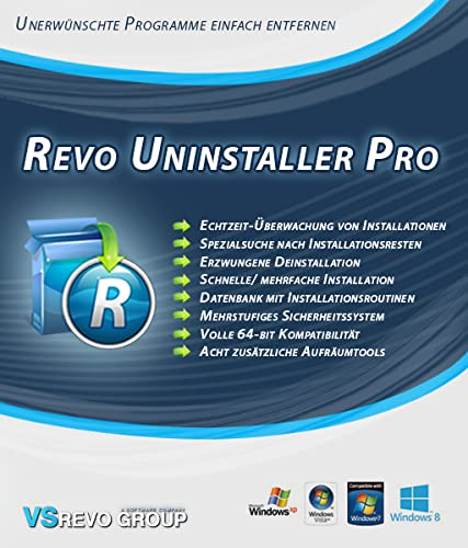 Revo Uninstaller Pro 3 Portable [Download] von VS Revo Group