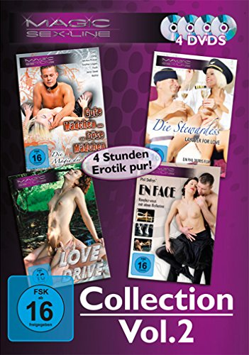 Magic Sex-Line Collection Vol. 2 - 4 DVDs von VZ-Handelsgesellschaft mbH