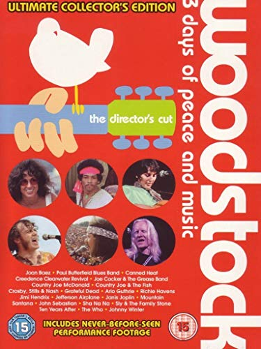 Woodstock - Ultimate Edition [4 DVDs] [UK Import] von Various
