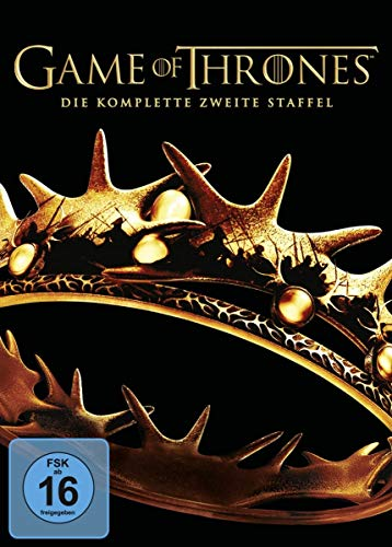 Game of Thrones - Die komplette zweite Staffel [5 DVDs] von Warner Bros.